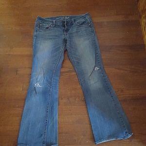 American Eagle Jeans Artist